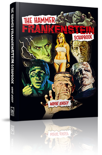 Hammer Frankenstein Scrapbook Cover