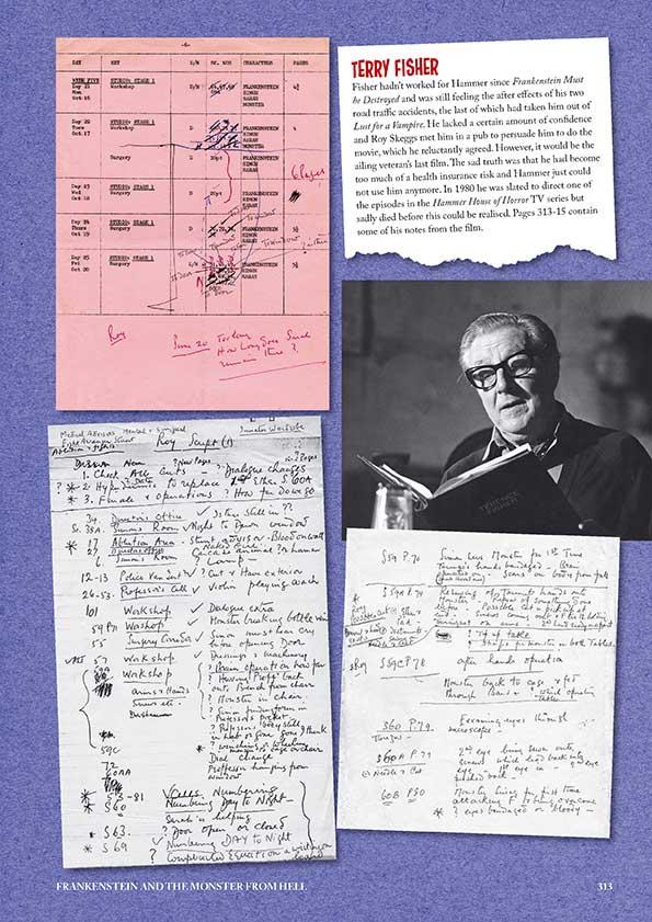 Hammer Frankenstein Scrapbook