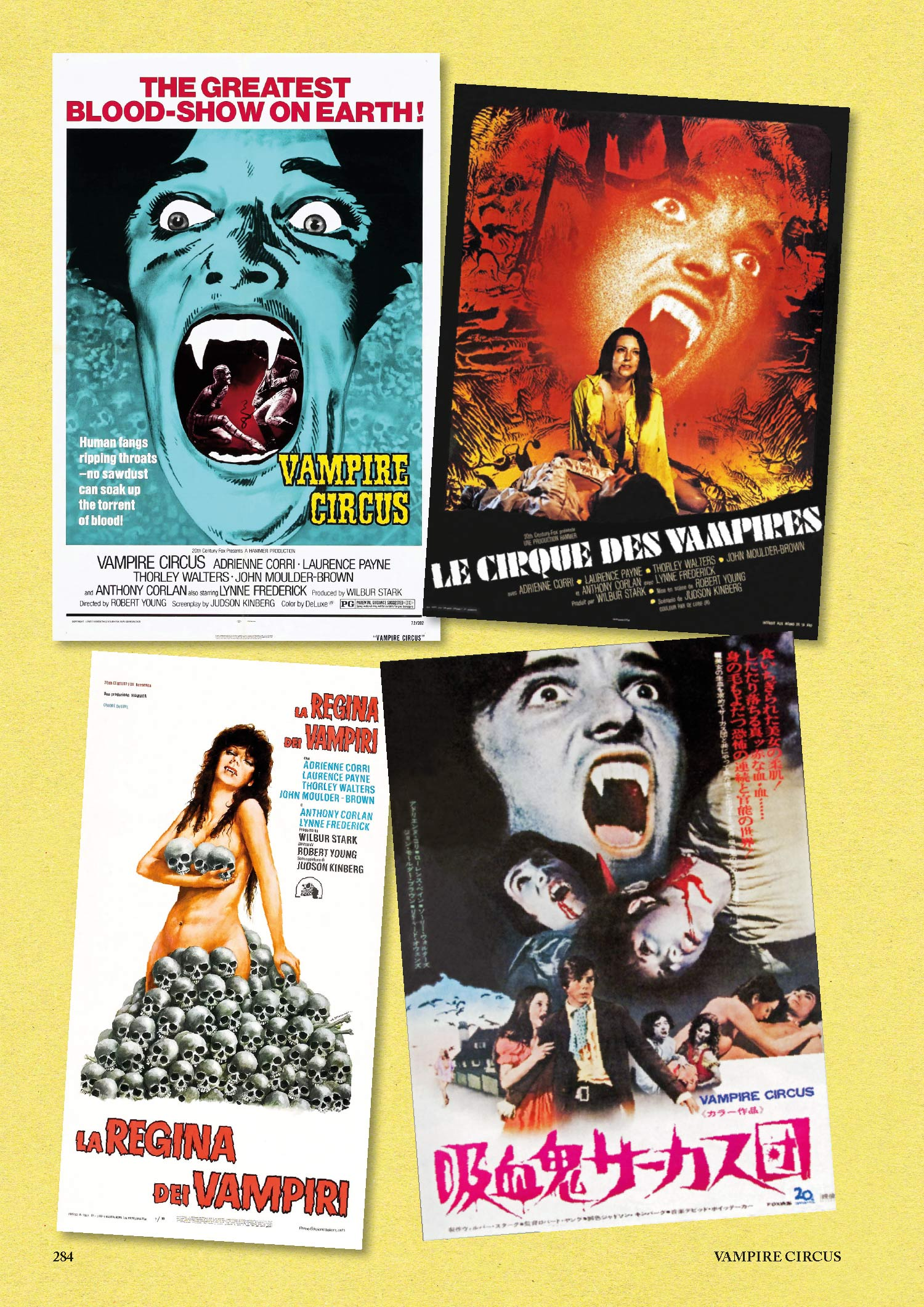 Hammer Vampire Scrapbook
