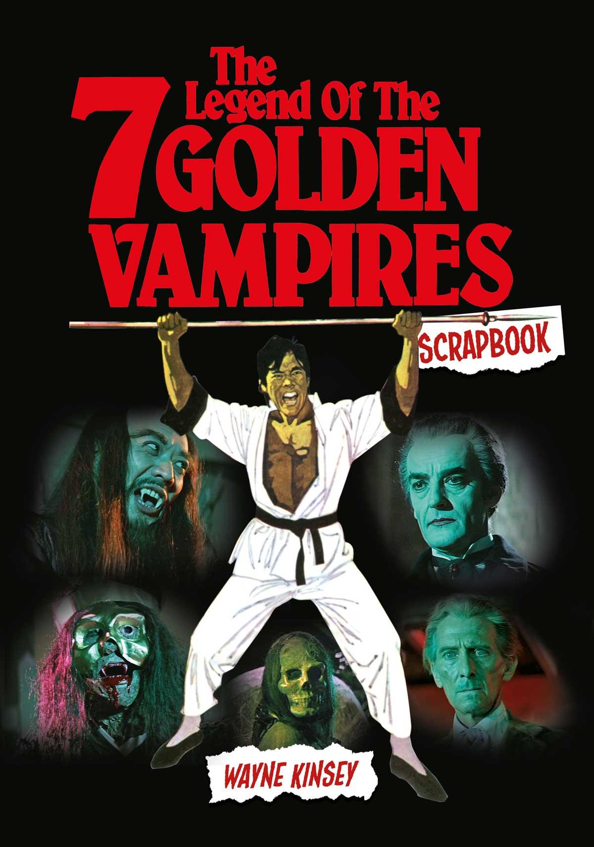 Legend of the 7 Golden Vampires Scrapbook